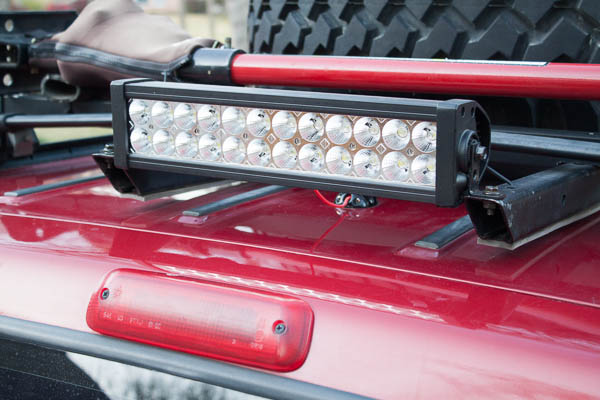 72w Light Bar Aux Reverse Light